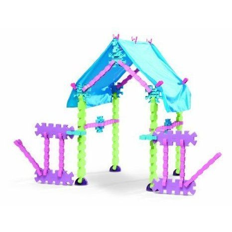Over 45 Interlocking ピース Fit Together - Little TikeStix Playhouse ブロック おもちゃ