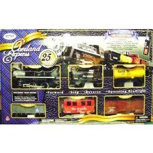 Overland Express Train Set ミニカー ミニチュア 模型 プレイセット自動車 ダイキャスト