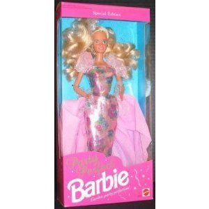 PARTY PERFECT Barbie(バービー) DOLL, 1992 EDITION, MATTEL #1876, SPECIAL EDITION, FROM NO SMOKING