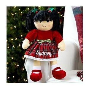 Personalized Christmas Rag Doll-Asian - Christmas Stockings ドール 人形 フィギュア