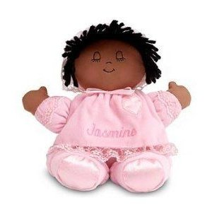 Personalized Extra Soft Baby Doll - African American - New Baby Gift ドール 人形 フィギュア
