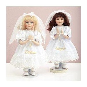 Personalized First Communion Doll - Communion Gift ドール 人形 フィギュア