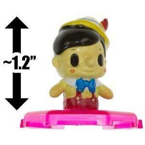 Pinocchio (~1.2): Disney (ディズニー) Mickey & Friends Mini-フィギュア Toppers Series #1 [RARE]