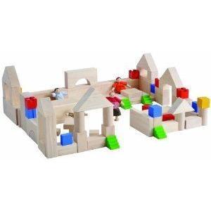 Plan Education Block And Construction Block Play Set A ブロック おもちゃ