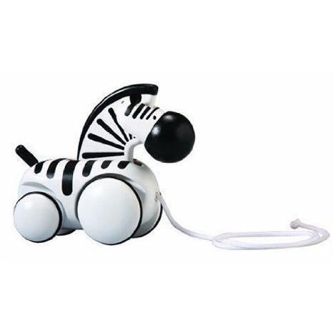 PlanToys Pull-Along Zebra by Plan Toys TOY ドール 人形 フィギュア