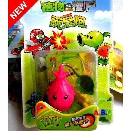 Plants VS Zombies Toys Pitayashooter Plastic Doll Shooting Doll ドール 人形 フィギュア