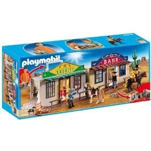 PLAYMOBIL (プレイモービル) My Take Along Western City