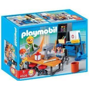 PLAYMOBIL (プレイモービル) Woodshop Class Construction Set
