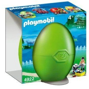 Playmobil Egg Zoo Keeper with Pandas