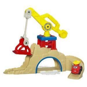 Playskool Chuck Fold-n-Go Construction Quarry プレイセット ミニカー ミニチュア 模型 プレイセット自