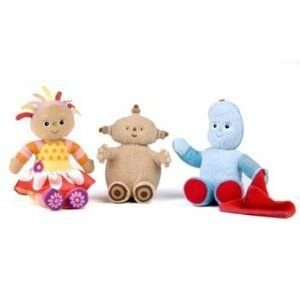 Playskool in the Night Garden Soft Friends Gift Pack, Igglepiggle Upsy Daisy and Makka Pakka
