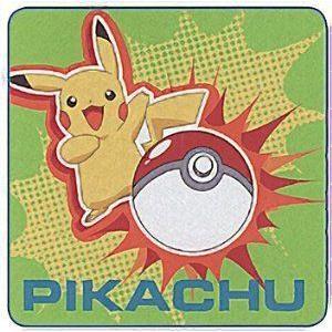 Pokemon (ポケモン) Diamond and Pearl Magic Washcloths Pikachu