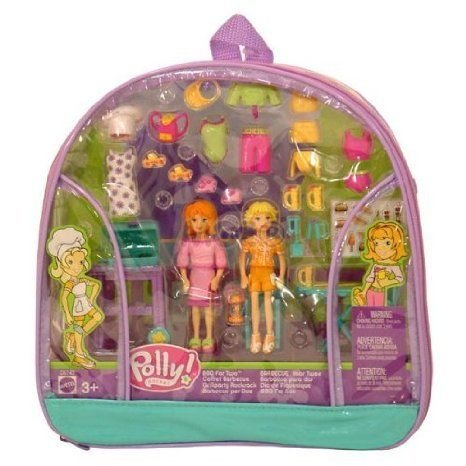 Polly Pocket: BBQ for Two Playset ドール 人形 フィギュア