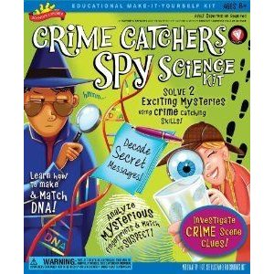 POOF-Slinky 0S6802008 Scientific Explorer Crime Catchers Spy Science Kit with Decoder Glasses and