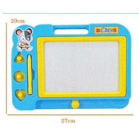 pooqdo Christmas Gift Random Color Children Magnetic Drawing Board フィギュア おもちゃ 人形