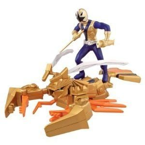 Power Ranger (パワーレンジャー) ClawZord and Samurai Ranger Antonio フィギュア おもちゃ 人形