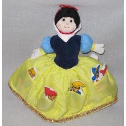 PRETTY 8 Cloth Topsy Turvy SNOW 白い Doll ドール 人形 フィギュア