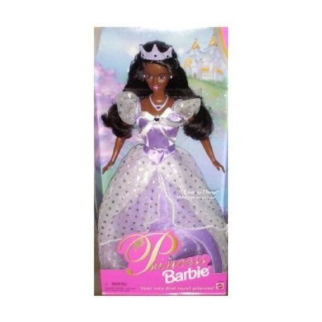 Princess Barbie(バービー) African American ドール 人形 フィギュア