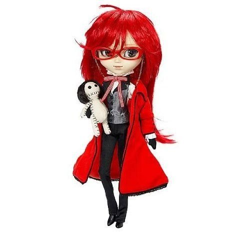 Pulllip 黒 Butler Grell Fashion Doll ドール 人形 フィギュア