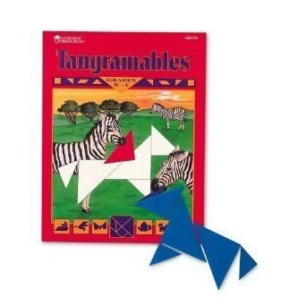 Quality value Tangramables 7-Pc Gr K-4 W/ Plastic By Learning Resources フィギュア ダイキャスト 人