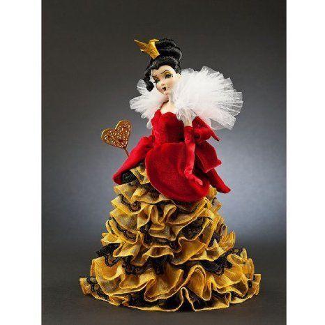 Queen of Hearts Disney (ディズニー)Villains Designer Collection Doll ドール 人形 フィギュア