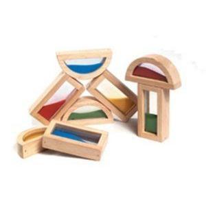 RAINBOW BLOCKS SAND by GUIDECRAFT USA ブロック おもちゃ