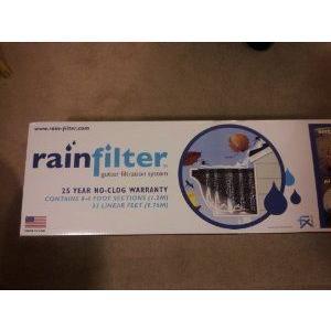 Rainfilter 32 Linear Feet No Clog Gutter Filtration System フィギュア おもちゃ 人形