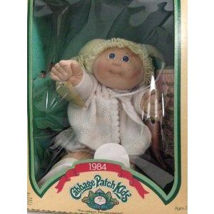 Rare 1984 Cabbage Patch Kid. Blonde Girl with Pigtails. ドール 人形 フィギュア