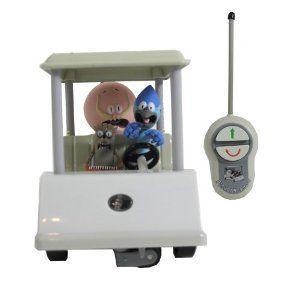 Regular Show 5 RC Golf Cart ミニカー ミニチュア 模型 プレイセット自動車 ダイキャスト