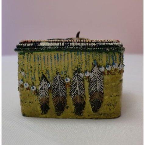 RETI赤 Native American Trinket Candle #2 ドール 人形 フィギュア