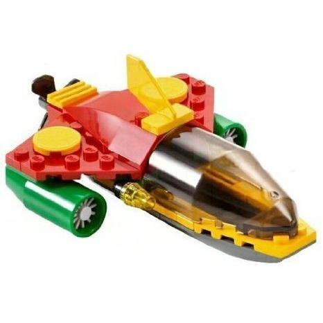 Robin's Scuba Jet 7885- LEGO (レゴ) Batman (バットマン) 自動車 車 (Loose) ブロック おもちゃ