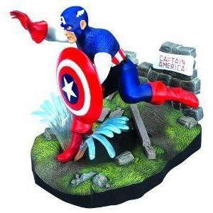 Round Captain America (キャプテンアメリカ) Model Kit フィギュア おもちゃ 人形