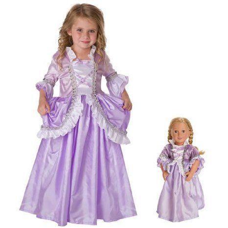 Royal Rapunzel Dress & Doll Dress- Large ドール 人形 フィギュア