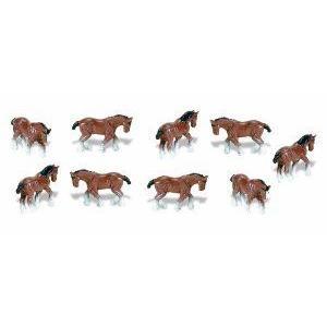 Safari Ltd Good Luck Minis Clydesdales