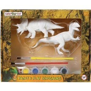 Safari LTD Paint and Play Dinosaurs