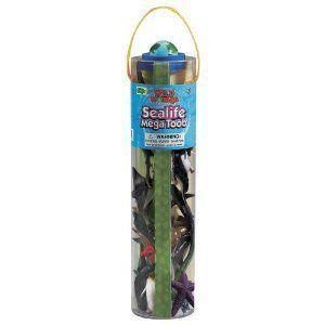 Safari Ltd Sealife Mega TOOB フィギュア おもちゃ 人形