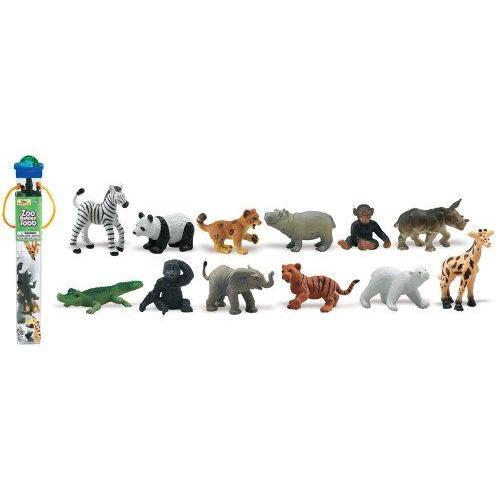 Safari Ltd Zoo Babies Toob フィギュア ダイキャスト 人形