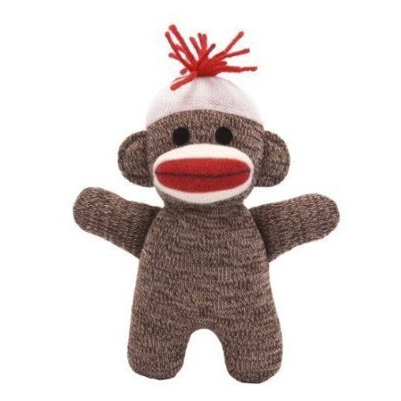 Schylling Sock Monkey Baby - 6.5 Doll by SCHYLLING TOYS TOY ドール 人形 フィギュア