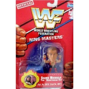 SHAWN MICHAELS - WWE (プロレス) WWF (プロレス アメリカンプロレス) Wrestling Ring Masters 2 インチ