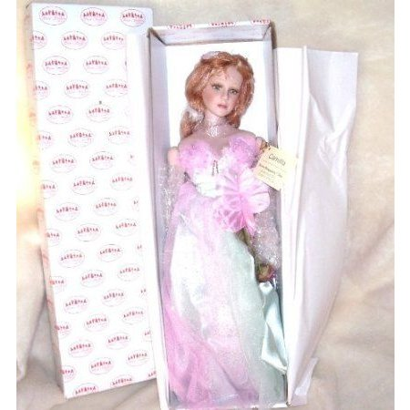 Show Stoppers CAMILLA Porcelain Doll 18 w/Doll Stand ドール 人形 フィギュア