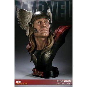Sideshow (サイドショー) Collectibles - Marvel (マーブル) buste 1/1 Thor 72 cm フィギュア おもちゃ