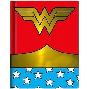 銀 Buffalo WW0150 DC Comics (DCコミックス) Wonder Woman Uniform Hard Cover Journal 160 Lined P