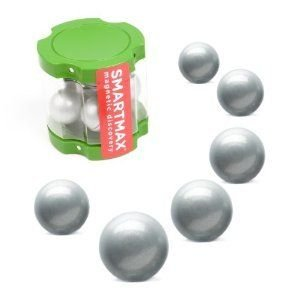 SmartMax Transparent Container w/8 Metal Balls ブロック おもちゃ