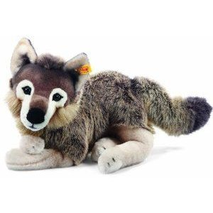 Snorry Dangling Wolf, グレー/褐色, 40 Cm ドール 人形 フィギュア