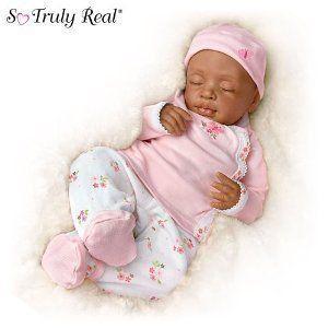 So Truly Real Fiorenza Biancheri Baby Tiffany Realistic Lifelike Doll by Ashton Drake ドール 人形