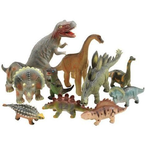 Soft Dinosaur Set of 10