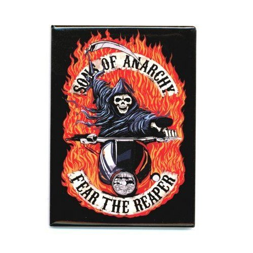 Sons Of Anarchy Fear The Reaper Magnet フィギュア ダイキャスト 人形