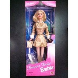 Special Edition Dinner Date Barbie(バービー) Blonde Hair ドール 人形 フィギュア