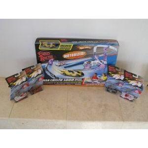 Speed Racer Casa Cristo Hot Wheels (ホットウィール) Race Track Set with 4 Extra Speed Racer Hotwhe
