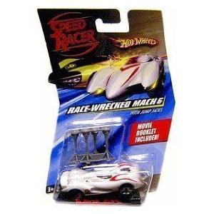 Speed Racer Hot Wheels (ホットウィール) Mach 6 (Race-wrecked) ミニカー ミニチュア 模型 プレイセッ